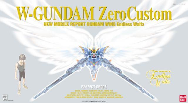 Wing Gundam Zero Custom, Bandai Perfect Grade1/60