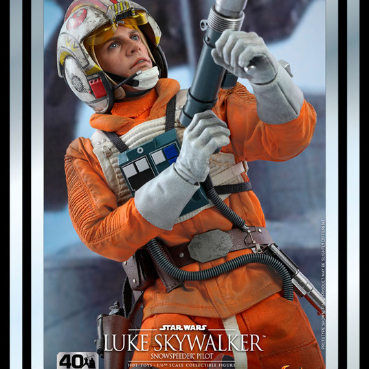 Luke Skywalker Snowspeeder Pilot Star Wars 40th Anniv Hot Toys