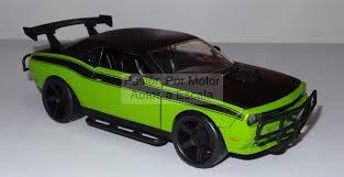 Dodge Challenger Fast & Furious 7 1/24 Jada Toys