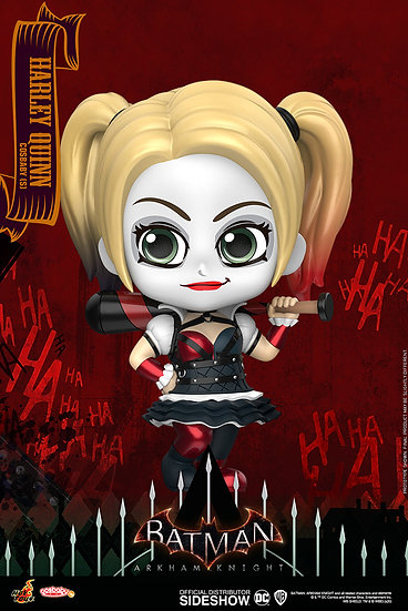 Harley Quinn Cosbaby(s) Bobble-Head - Batman: Arkham Knight (Hot Toys)