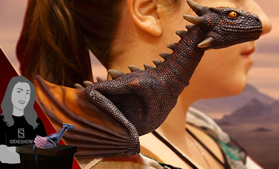 Drogon Prop by Trick or Treat Studios