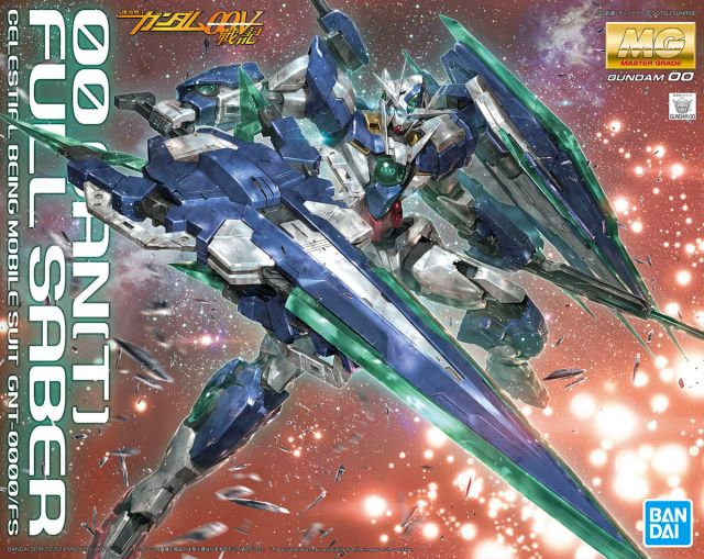 "00 QAN[T] Full Saber ""Mobile Suit Gundam 00V: Battlefield Bandai MG 1/100"