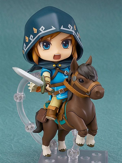 Nendoroid Link: Breath of the Wild Ver. DX Edition(3rd-run) by GoodSmile