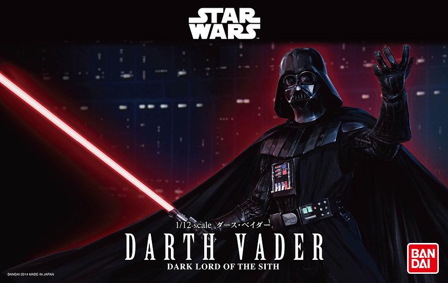 Darth Vader 1/12 Star Wars Bandai Model Kit