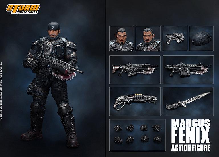 "Marcus Fenix ""Gears of War"", Storm Collectibles 1/12"