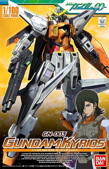 """Gundam Kyrios """"Gundam 00"""", Bandai 1/100"""