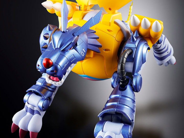 "02 Metal Garurumon ""Digimon Adventure"", Bandai Digivolving Spirits"