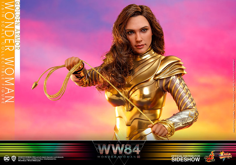Golden Armor Wonder Woman by Hot Toys Wonder Woman 1984