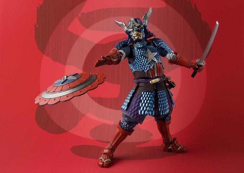 "Samurai Captain America ""Marvel"", Bandai Meisho Manga Realization"