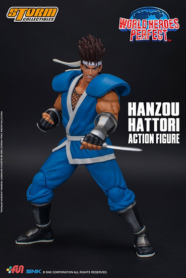 """Hanzou Hattori """"World Heroes Perfect"""", Storm Collectibles 1/12"""