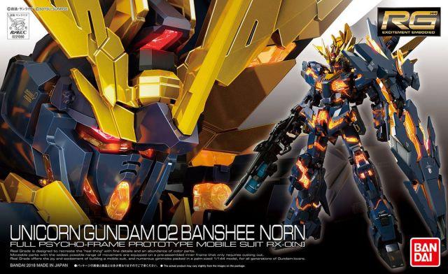"#27 Unicorn Gundam 02 Banshee Norn ""Gundam UC"", Bandai RG 1/144"