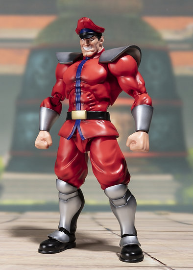 "M. Bison ""Street Fighter"", Bandai SH Figuarts"