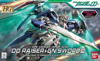 #54 Gundam 00 Raiser + GN Sword #3 HG 1/144 Bandai