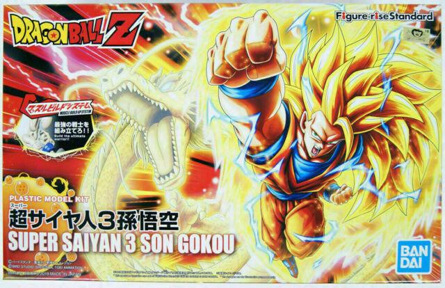 Goku Super Saiyan 3 Figure rise New Pkg Version Bandai
