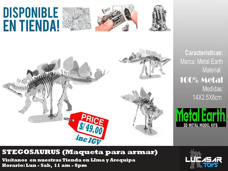 Stegosaurus Metal Earth