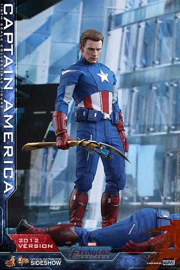 Capitan America (2012 Version) Sixth Scale Figure Hot Toys