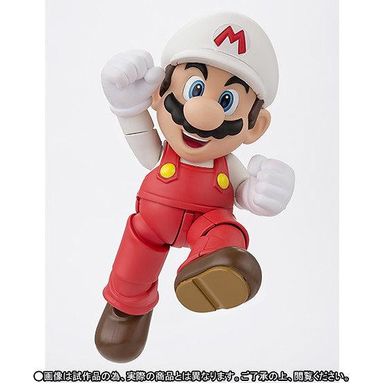 Super Mario Bros Fire Mario Sh Figuarts Bandai