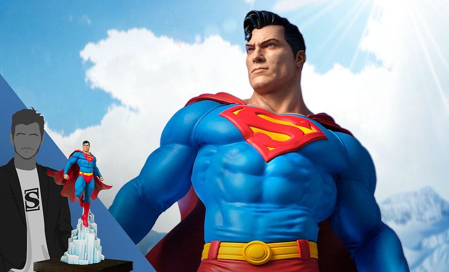 Superman Maquette by Tweeterhead Statue