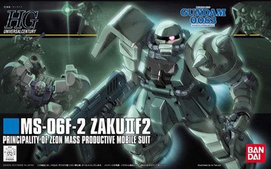 "#105 MS-06F-2 Zaku II F2 (Zeon Ver.) ""Gundam 0083"", Bandai HGUC Pre Orden"