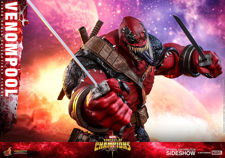 Venompool Sixth Scale Figure by Hot Toys Video Game Masterpiece Series