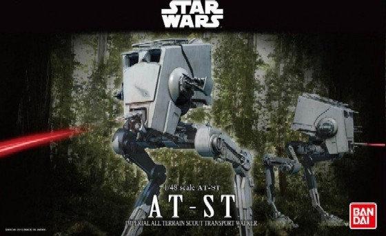 AT-ST Star Wars Bandai 1/48 Model Kit