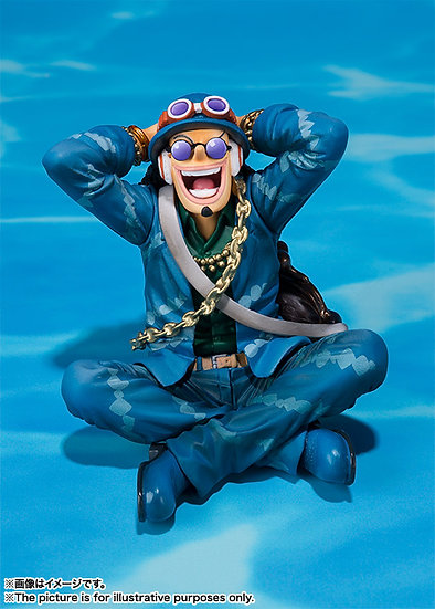 Usopp One Piece 20Th Anniversary Figuarts Zero Bandai