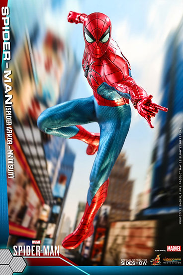 Spider-Man (Spider Armor - MK IV Suit) by Hot Toys Video Game Masterpiece Series