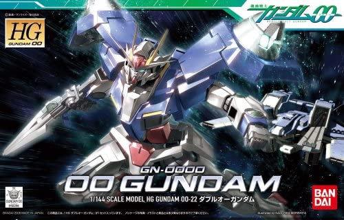 """#22 00 Gundam """"Gundam 00"""", Bandai HG 00"""
