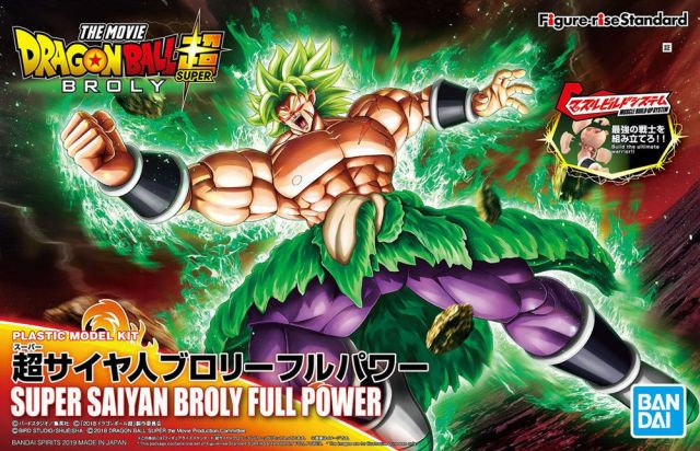 "Super Saiyan Broly Full Power ""Dragon Ball Super"", Bandai Figure-Rise Standard"