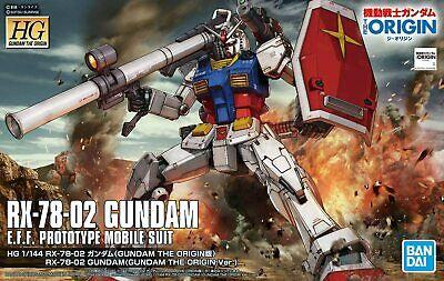 "#26 RX-78-02 Gundam ""Gundam The Origin"", Bandai Spirits HG The Origin 1/144"