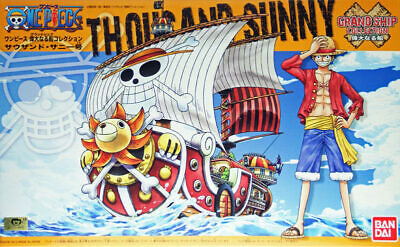 01 Thousand Sunny Model Ship, Bandai One Piece GSC