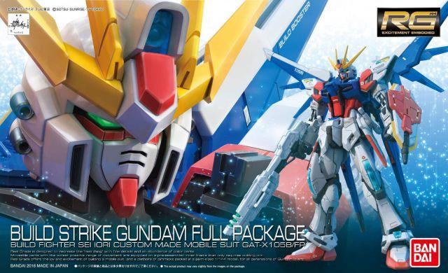 "#23 Build Strike Gundam Full Package ""Gundam Build Fighters"", Bandai RG 1/144"