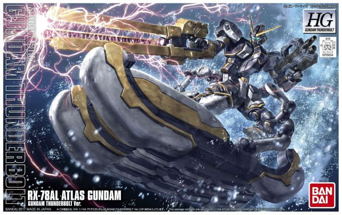 """RX-78AL Atlas Gundam (Thunderbolt Ver.) """"Gundam Thunderbolt"""", Bandai HG Thunderb"""