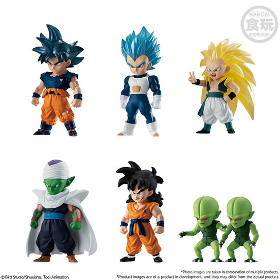 "Dragon Ball Adverge 11 ""Dragon Ball Super"" (Box/10), Bandai Adverge"
