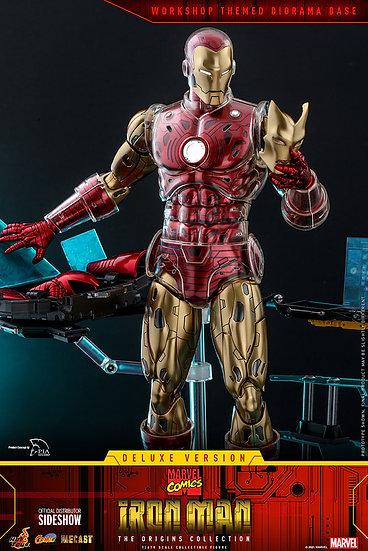 Iron Man Deluxe The Origins Collection Comics Diecast Hot Toys Pre Orden