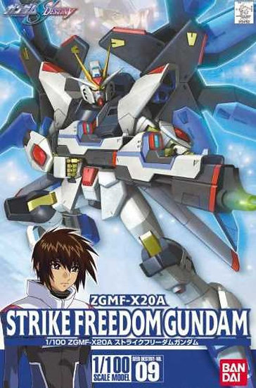 "#9 Strike Freedom Gundam ""Gundam SEED Destiny"", Bandai 1/ 100 SEED Destiny"
