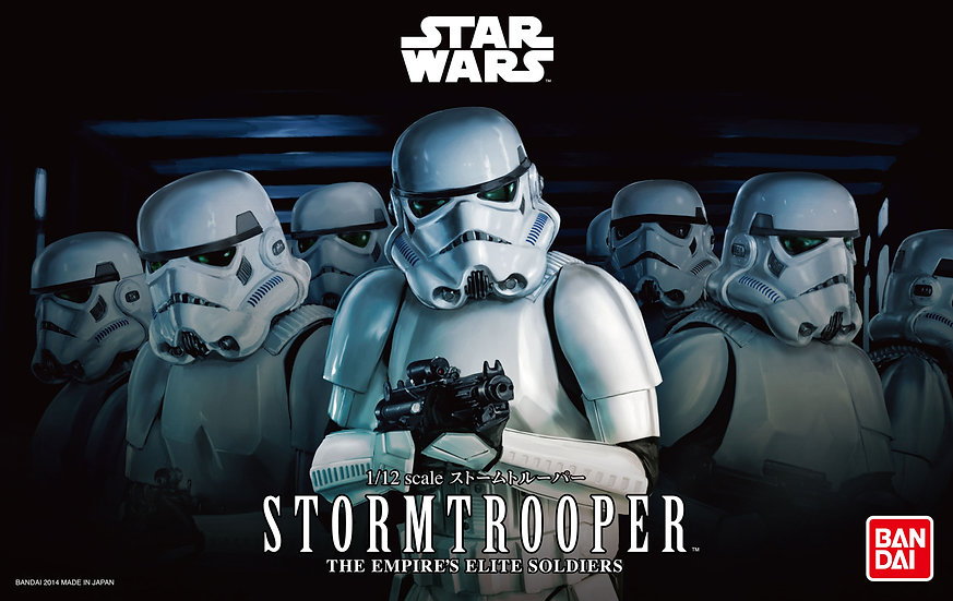 StormTrooper 1/12 Star Wars Bandai Model Kit