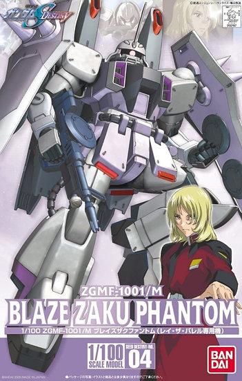 "#4 Blaze Zaku Phantom ""Gundam Seed Destiny"", Bandai 1/100 SEED"