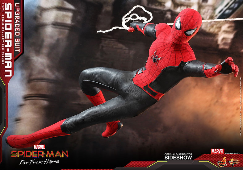 Spider-Man (Upgraded Suit) Far From Home by Hot Toys