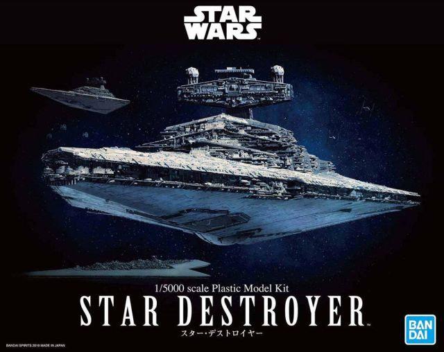 """Star Destroyer """"Star Wars"""", Bandai 1/5000"""