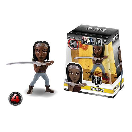 The Walking Dead Michonne Jada toys, 100% metal 13 cm