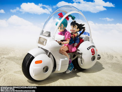 "Bulma's Motorcycle -Hoipoi Capsule No. 9- ""Dragon Ball"" SH Figuarts Bandai"
