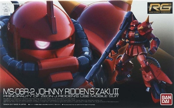 MS-06R-2 Johnny Ridden?s Zaku II RG 1/144 Bandai