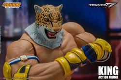 """King """"Tekken 7"""", Storm Collectibles 1/12 - Pre Orden"""