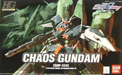 "#19 Chaos Gundam ""Gundam Seed"", Bandai HG 1/144"