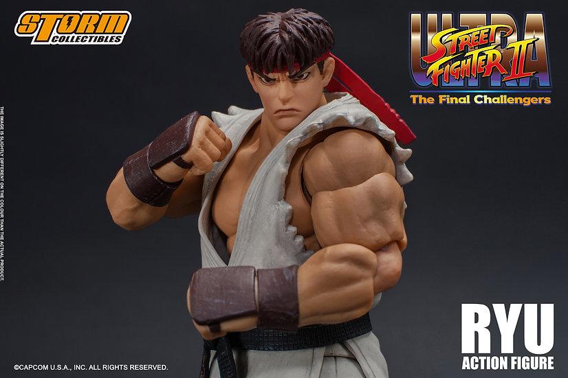 "Ryu ""Ultra Street Fighter II: Storm Collectible, PRECIOESPECIAL"