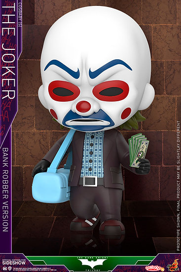 Joker (Bank Robber Version) Cosbaby(s) - The Dark Knight (Hot Toys)