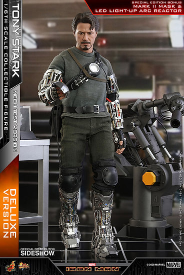 Tony Stark (Mech Test Deluxe Version - by Hot Toys