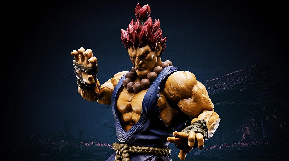 Akuma Street Fighter V Bandai SH Figuarts