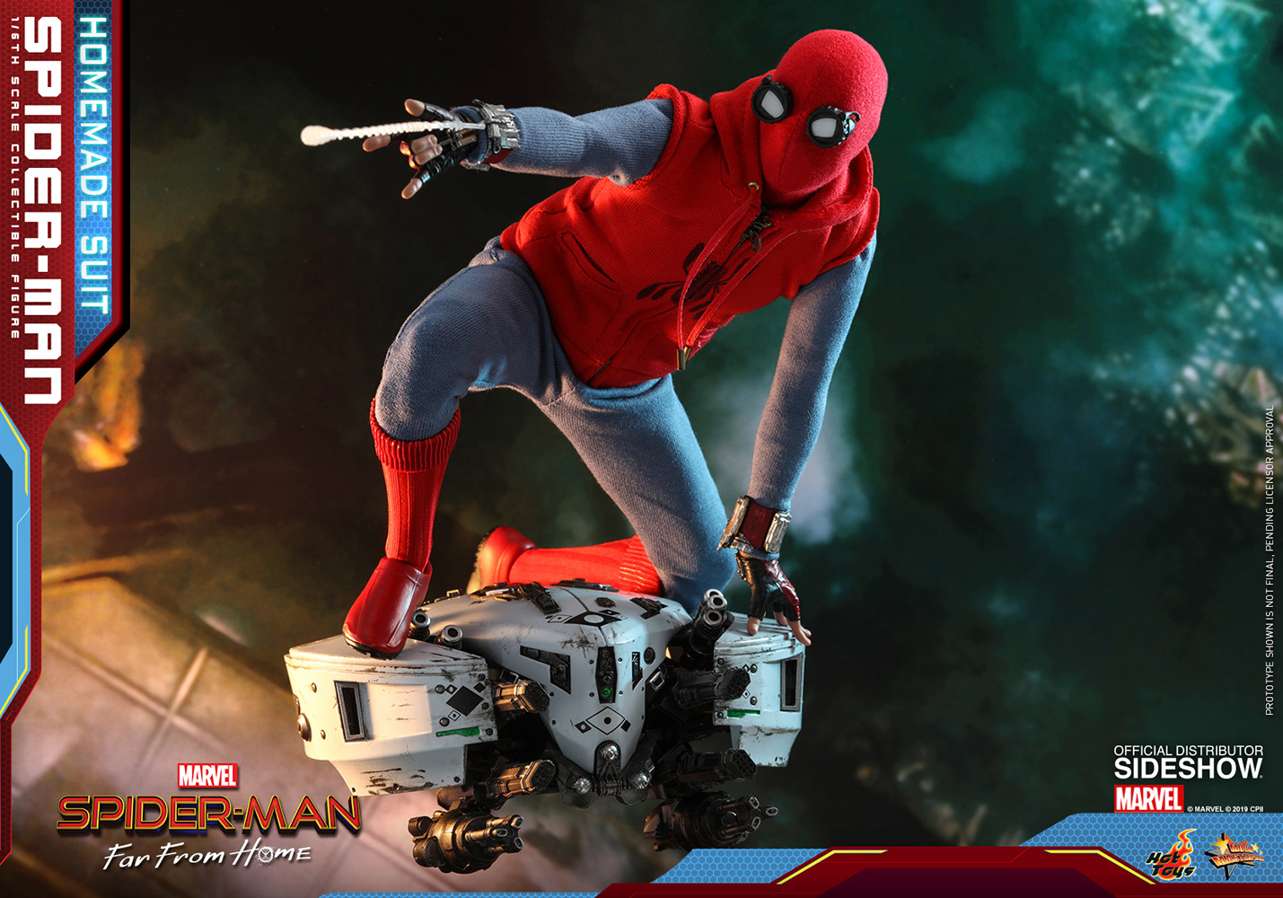 Spider-Man (Homemade Suit) Spider-Man: Far From Home by Hot Toys 1/6